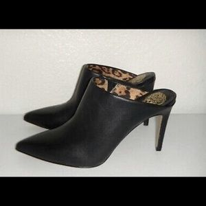 Vince Camuto leather mules